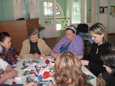 В Волгоградском доме престарелых проведут мастер-классы по вязанию